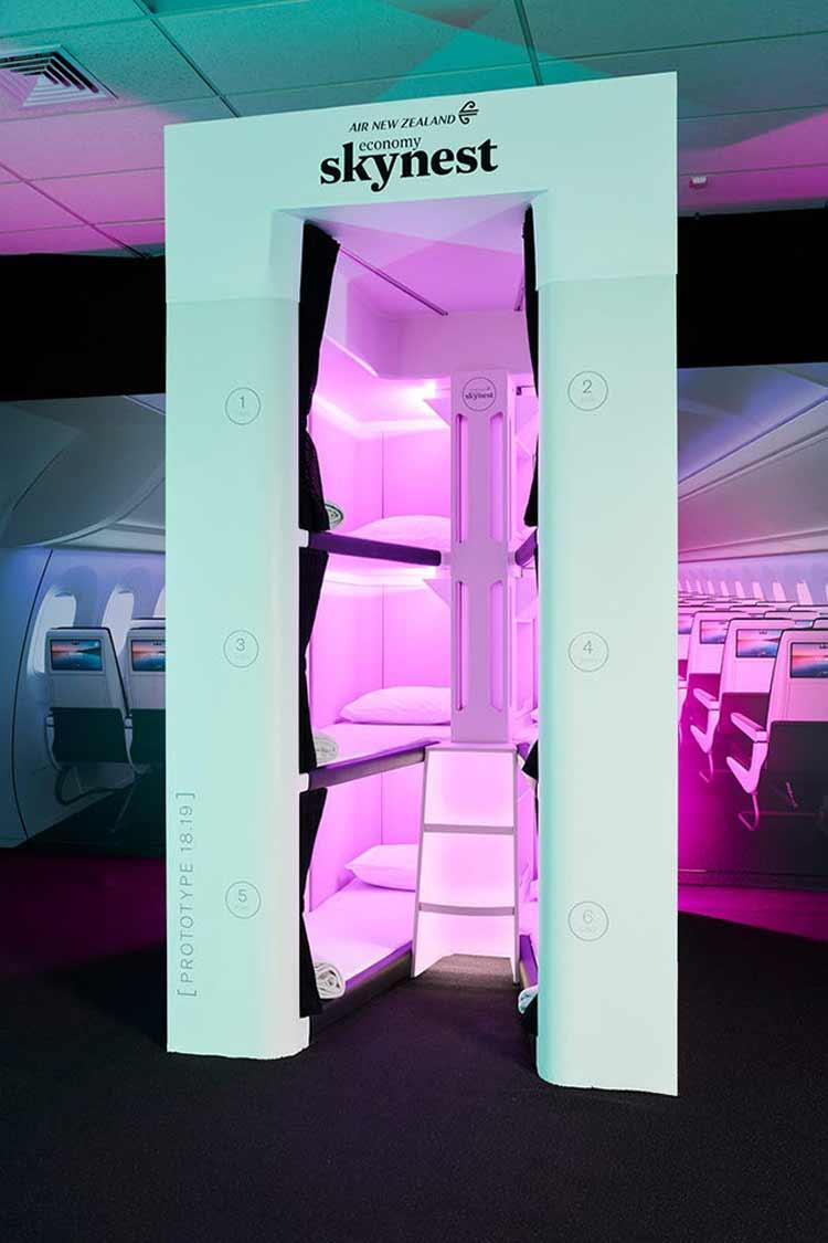cabine-capsula-para-dormir-em-aviao