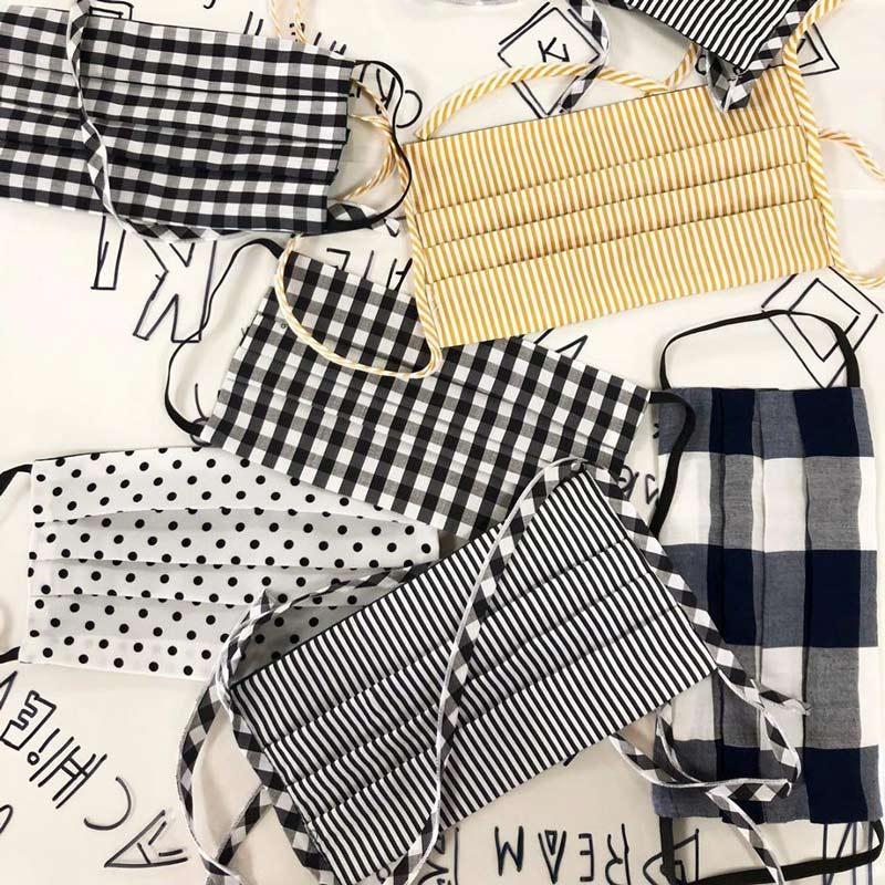 Como fazer máscaras de pano: materiais, padrão para cortar e ...