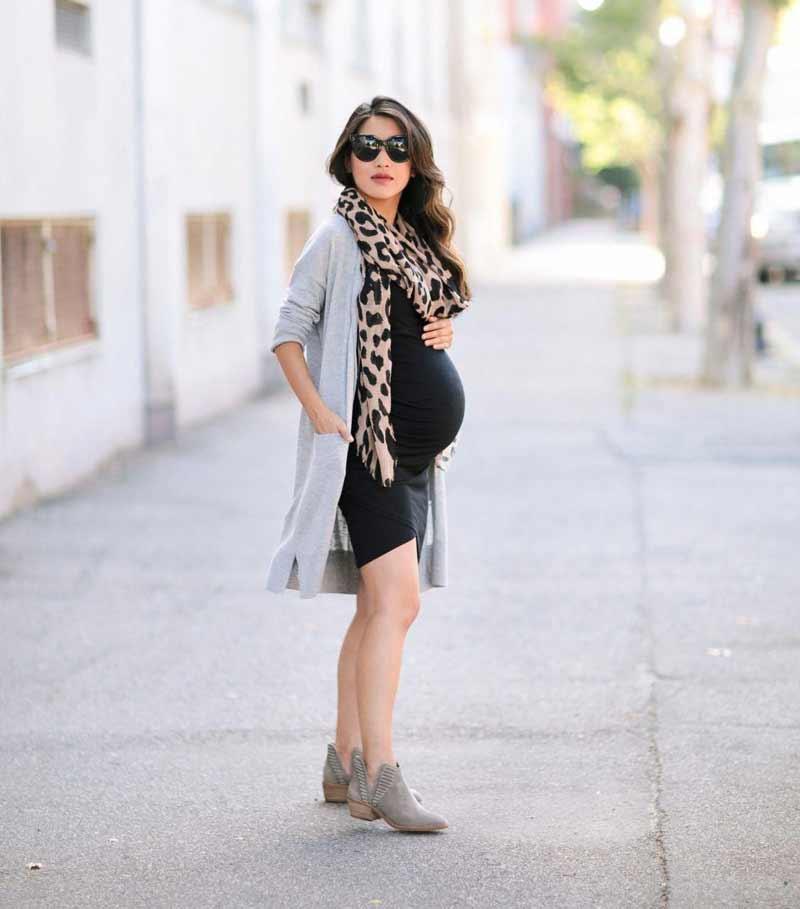 roupa-para-gravidas-vestido-preto