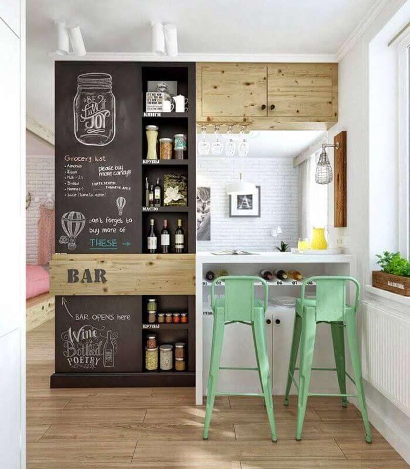 decoracao-cozinha-quadro-negro
