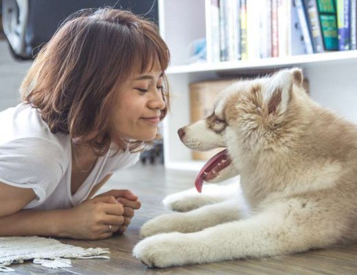 mulher-e-cachorro