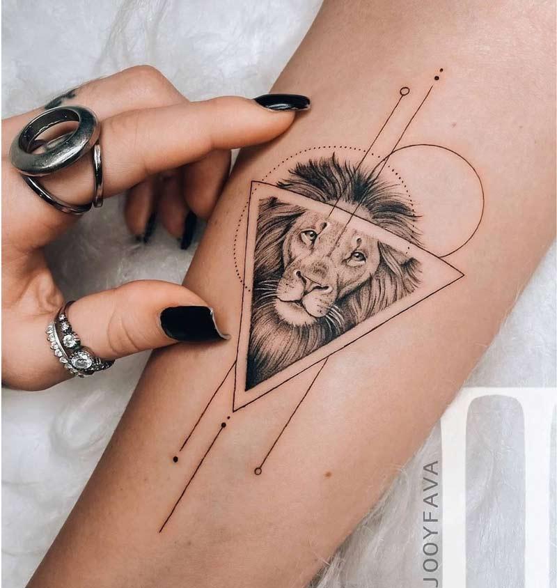 tatuagem-leao