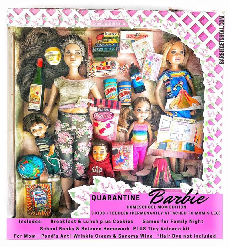 barbie-na-quarentena-mae