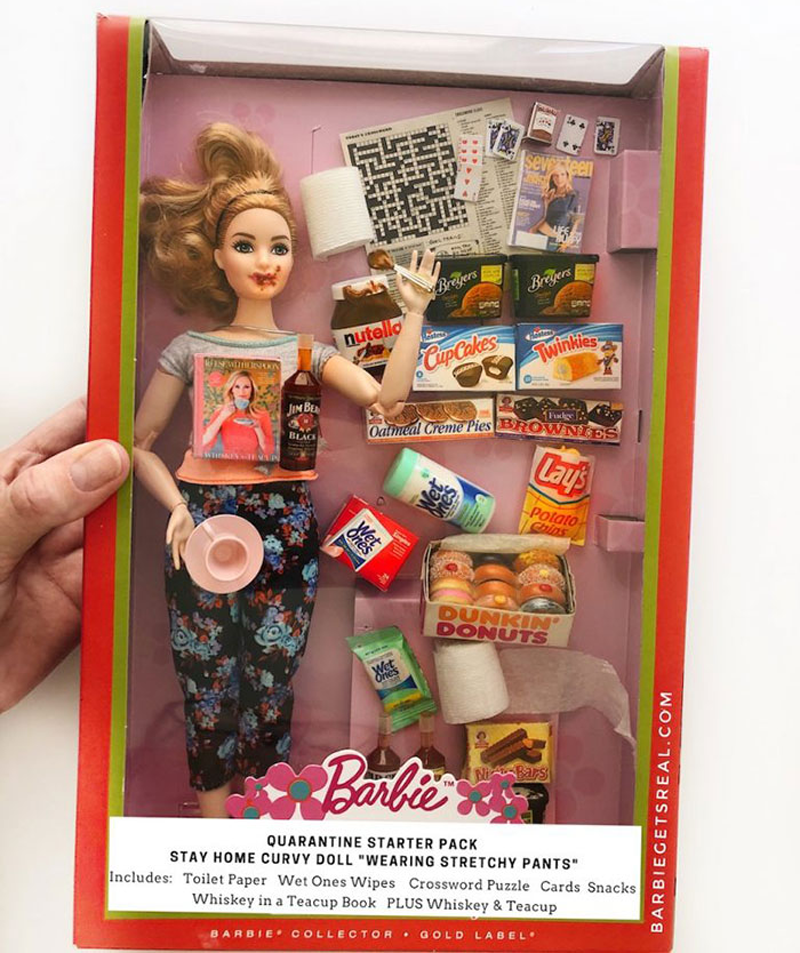 barbie-na-quarentena