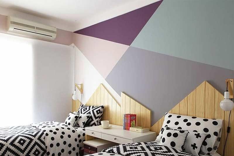 parede-geometrica-uarto