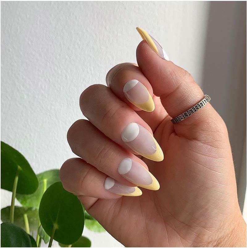 nail-art-amarelo-unhas-francesinha