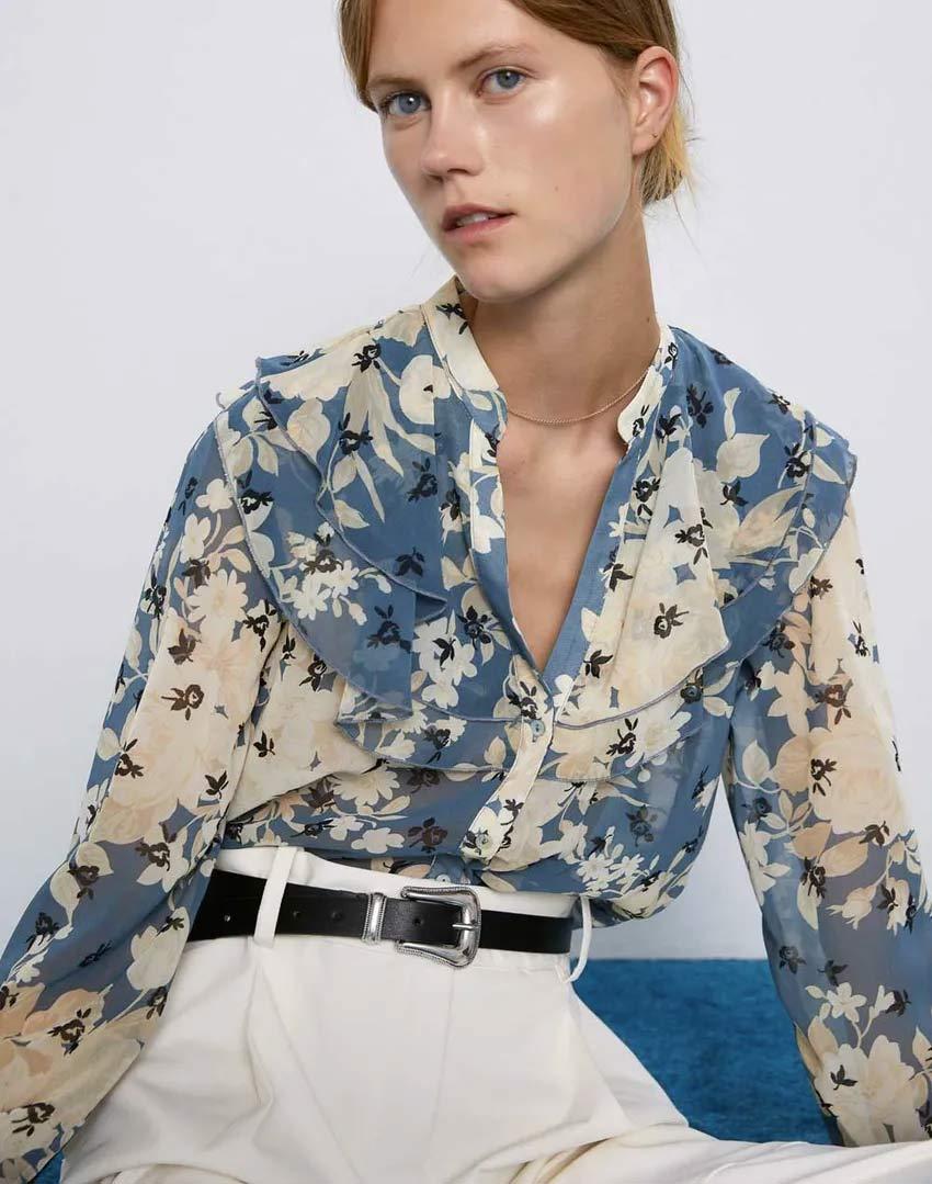 blusa-zara-floral-estilo-romantico