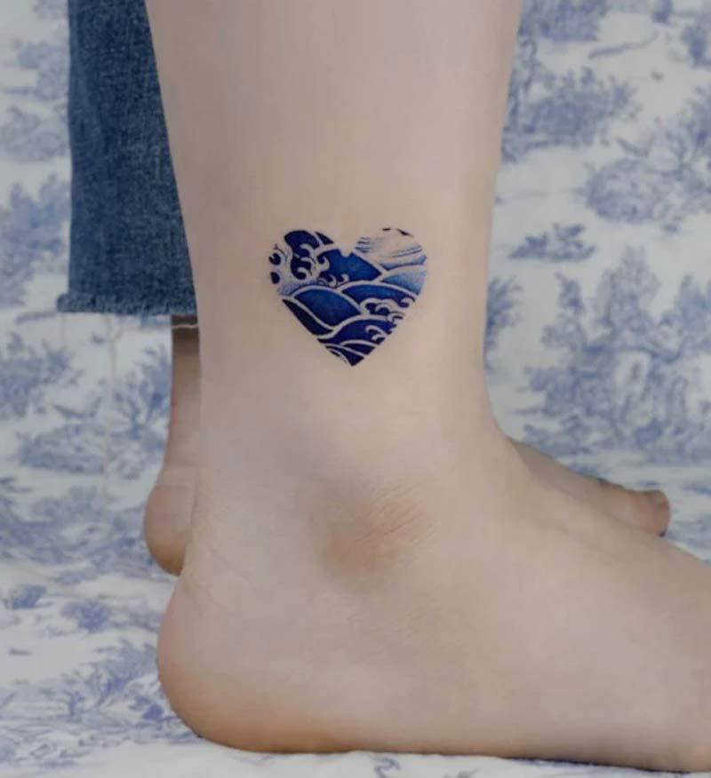 tatuagem-coracao-pintura-em-porcelana