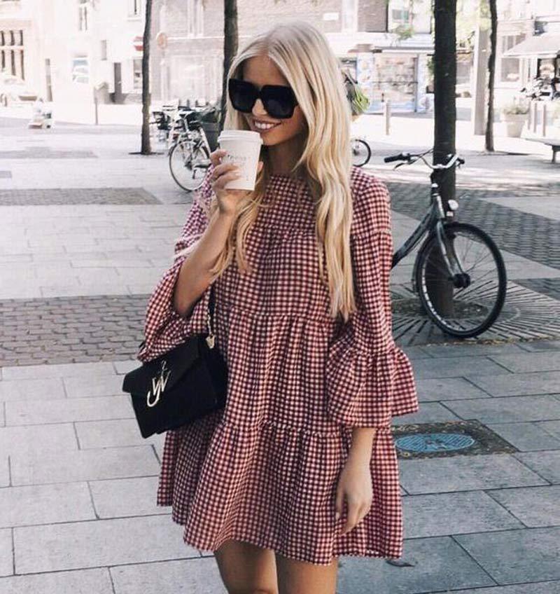 vestido-trapezio-xadrez-vichy