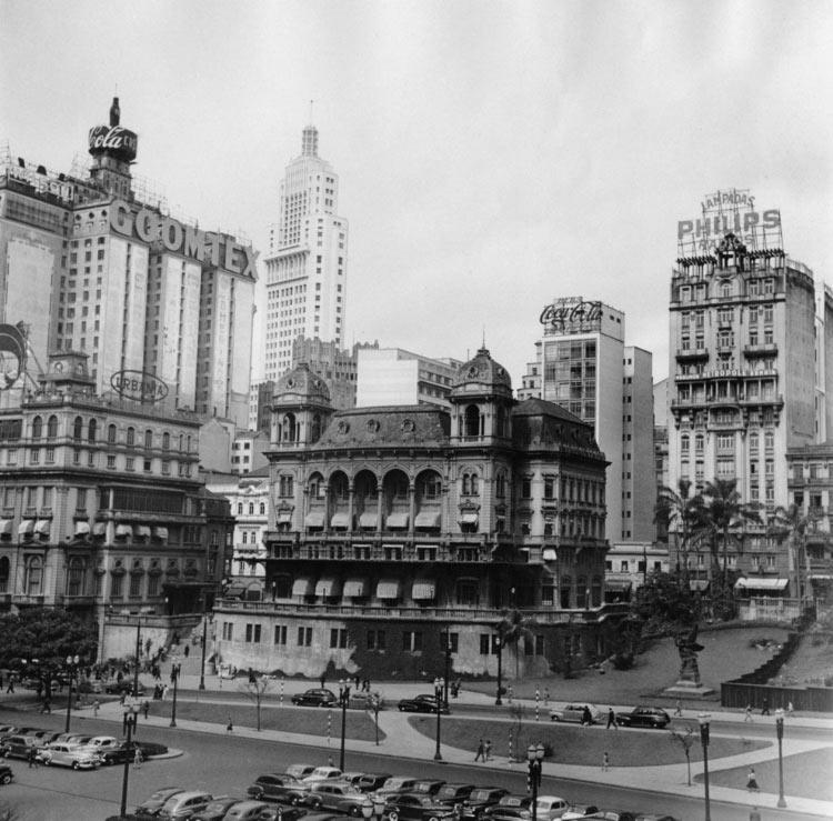 Centro de São Paulo – Anhangabaú (1955)