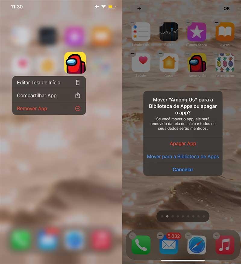 como-organizar-tela-inicial-iphone-ios-14-aesthetic