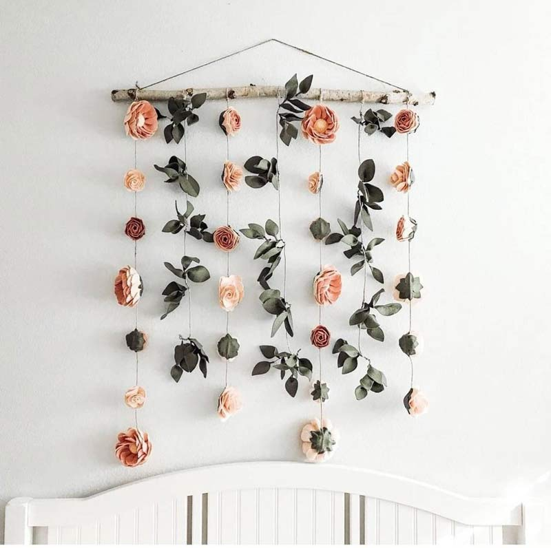 decoracao-pinterest-flores-na-parede