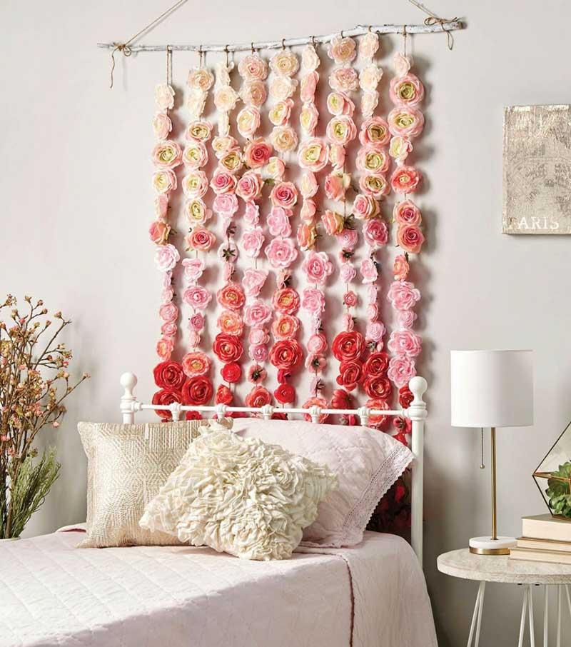 degrade-flores-na-parede-quarto