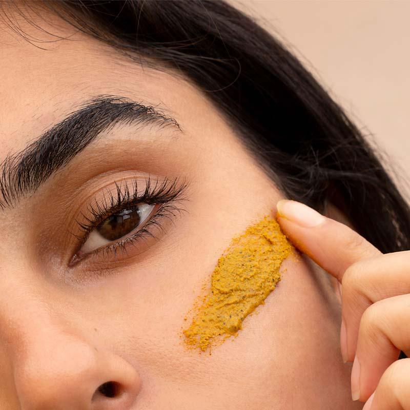 mascara-de-curcuma-acafrao-como-fazer-beneficios