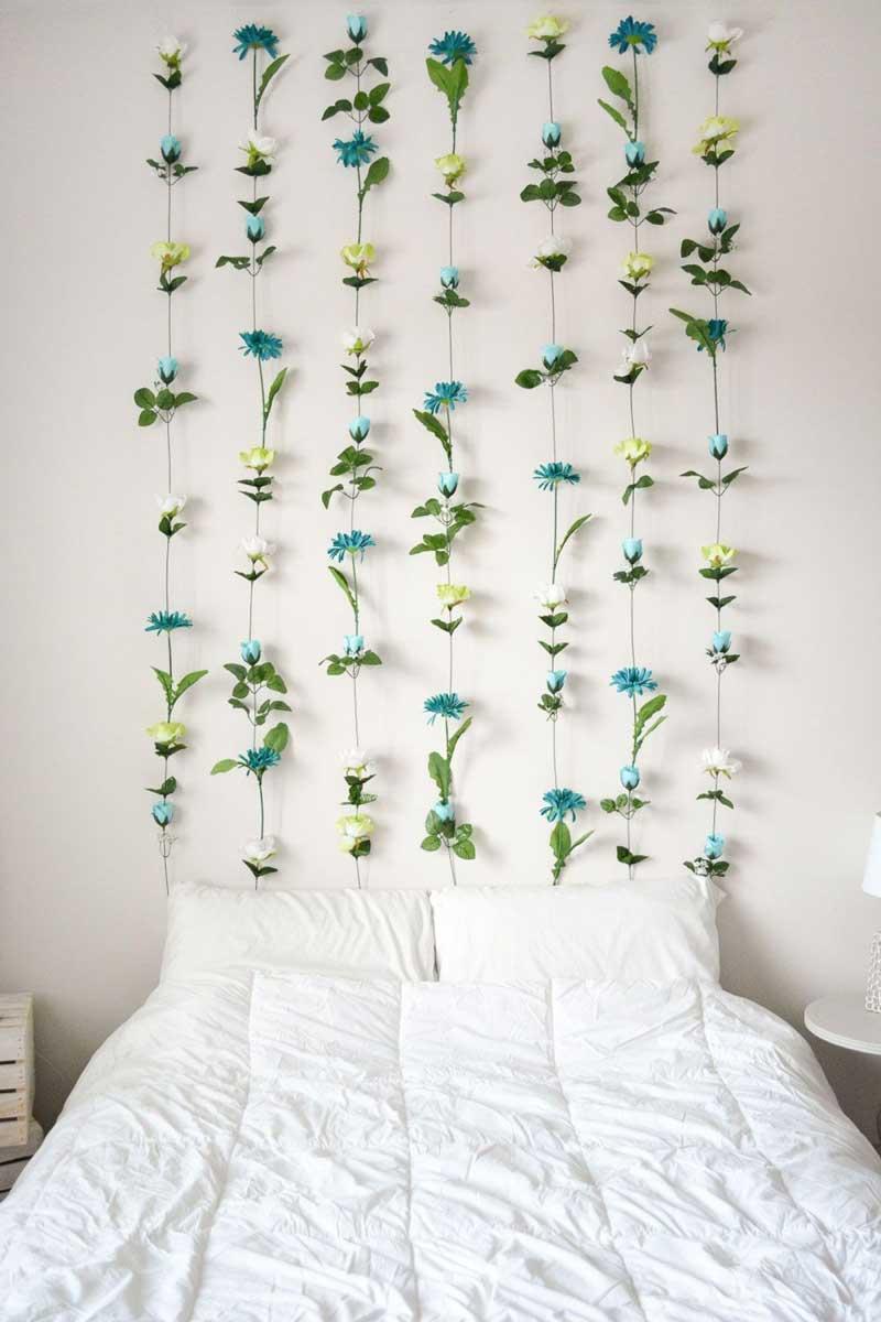parede-de-flores-como-cabeceira-de-cama