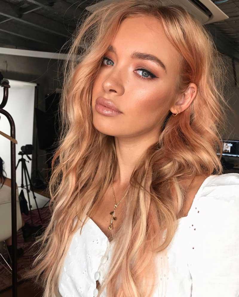 tendencia-cabelo-pessego-dourado-peach-hair