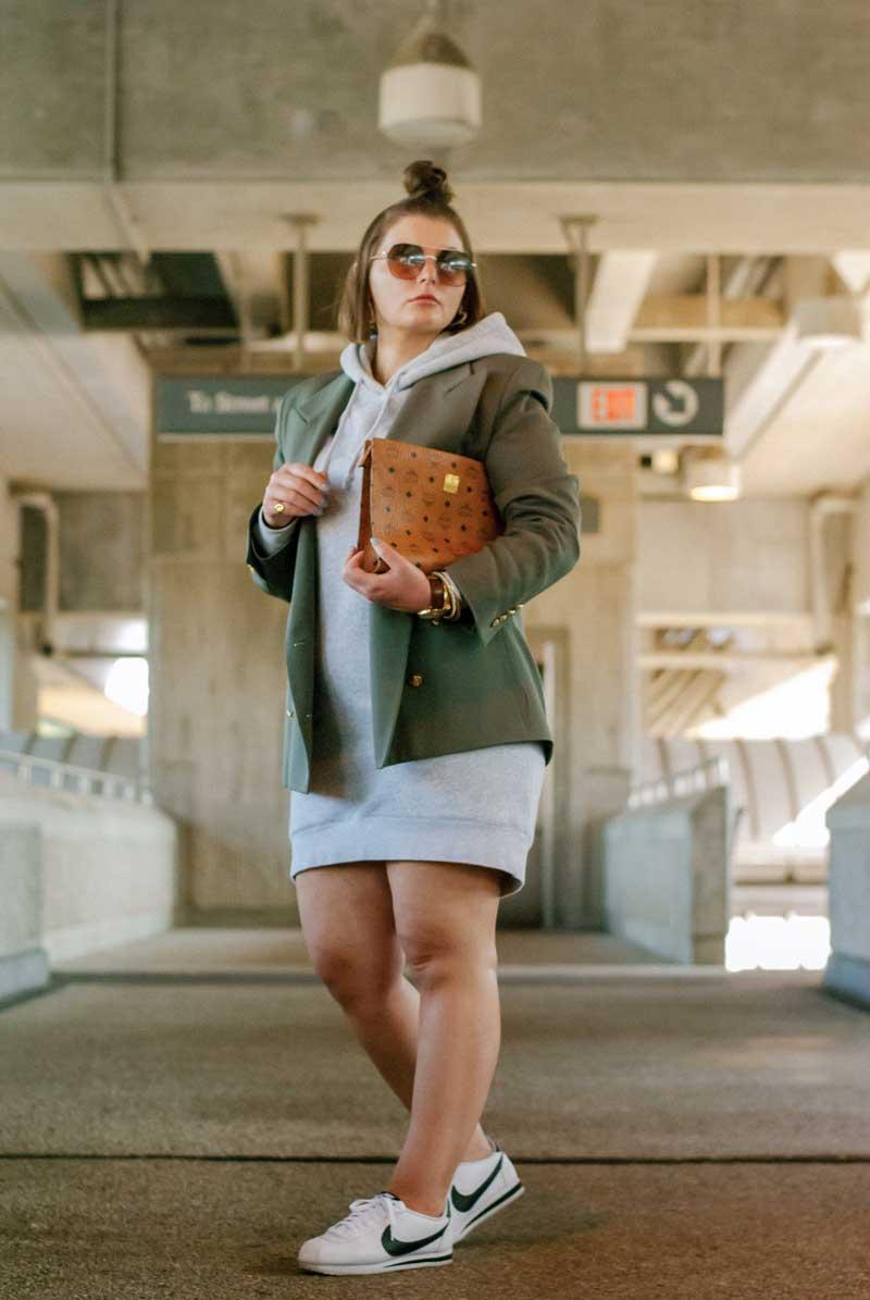 vestido-moletom-com-blazer-looks