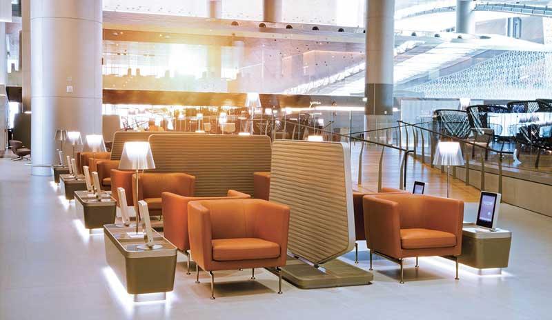 Qatar-Airways-Al-Mourjan-Business-Class-Lounge