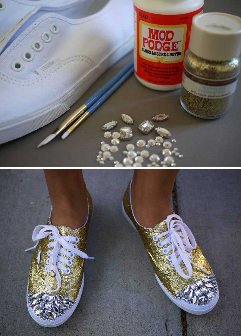 customizacao-tenis-com-pedra-e-glitter