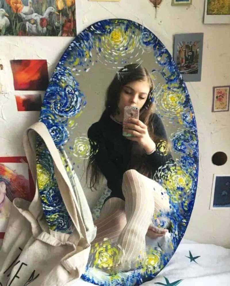 pintura-no-espelho-tendencia-selfies