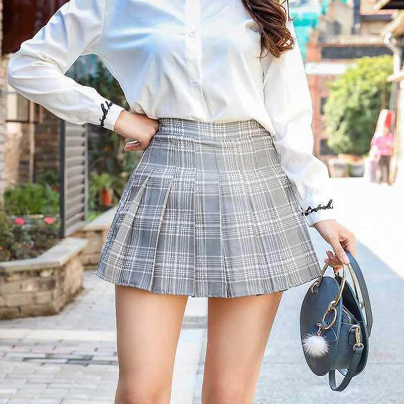 saia-plissada-tenis-looks-preppy-como-usar