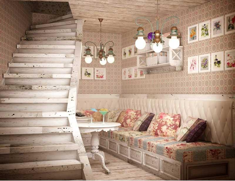 shabby-chic-decoracao-casa-sala