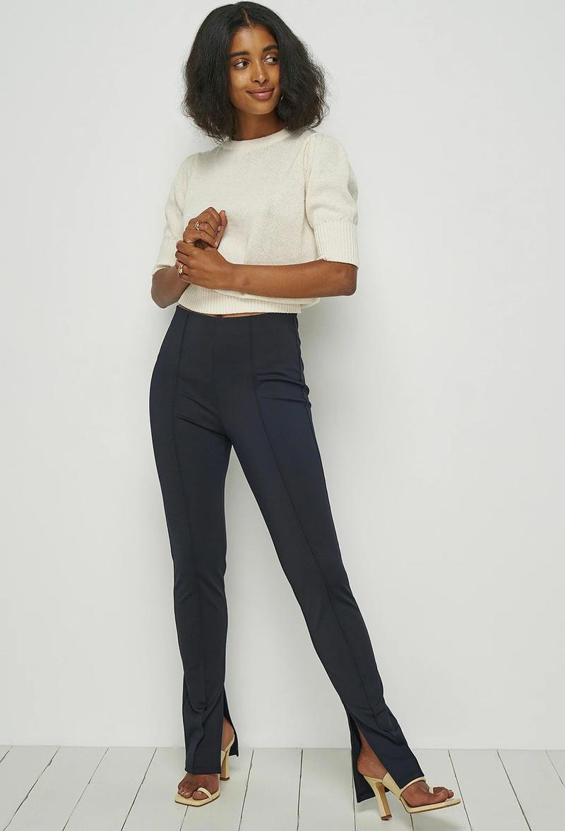 legging com fenda no tornozelo como usar looks - Tendencias de pantalones 2021: estos modelos son los más populares
