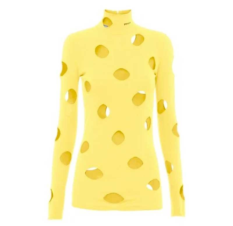 sueter-prada-amarelo-furado-queijo