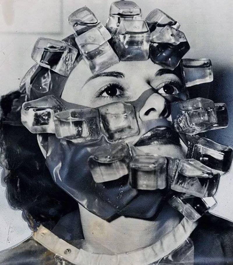 mascara de gelo antigamente - Estas fotos de productos de belleza vintage son muy fascinantes.