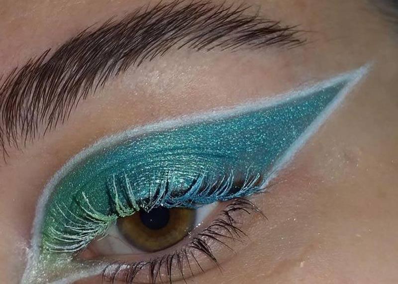 mascaras-de-cilios-rimel-colorida-maquiagem-verde