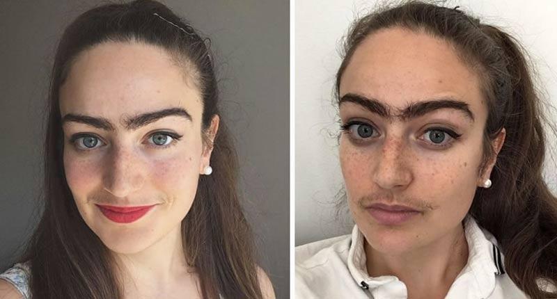 mulher-pelos-faciais-sobrancelha
