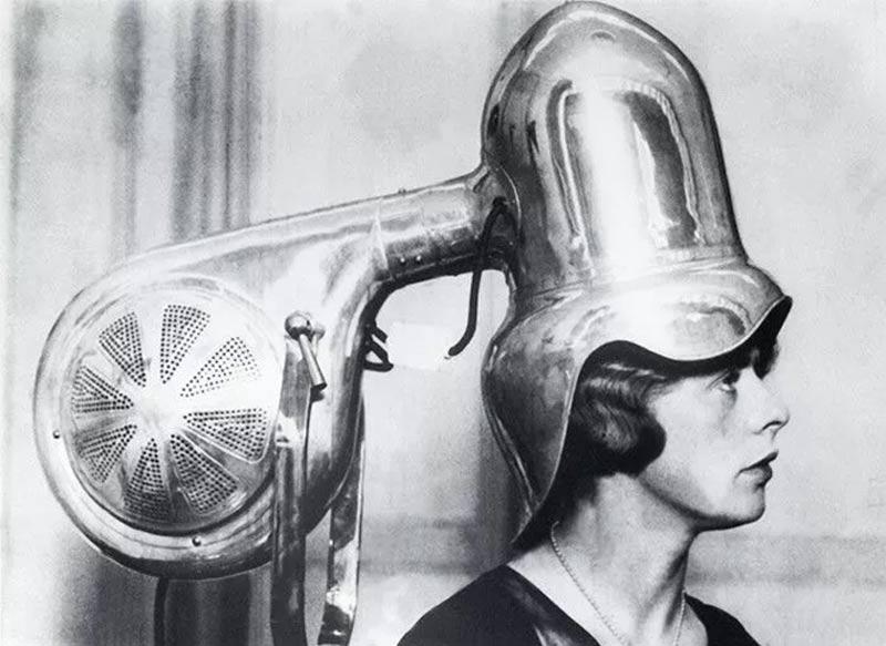 secador eletrico de cabelos antigamente - Estas fotos de productos de belleza vintage son muy fascinantes.