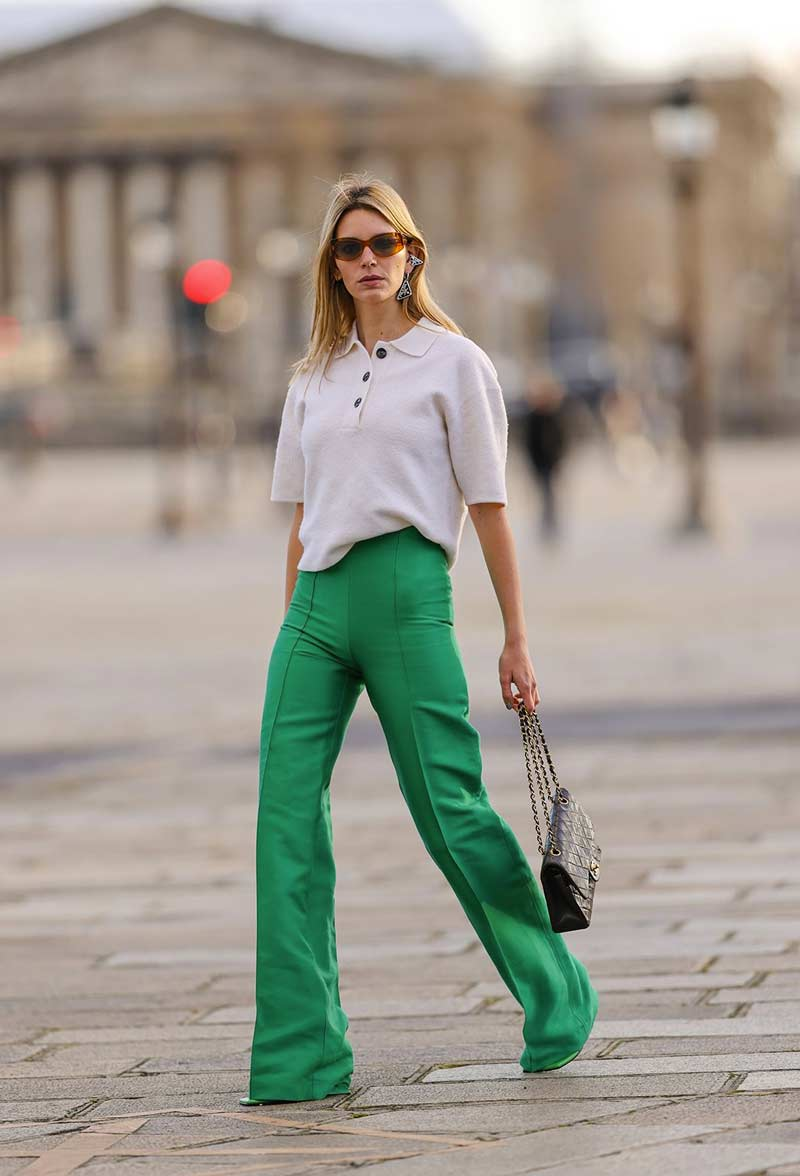camisa-polo-feminina-2021-looks-calca-alfaiataria-verde-looks