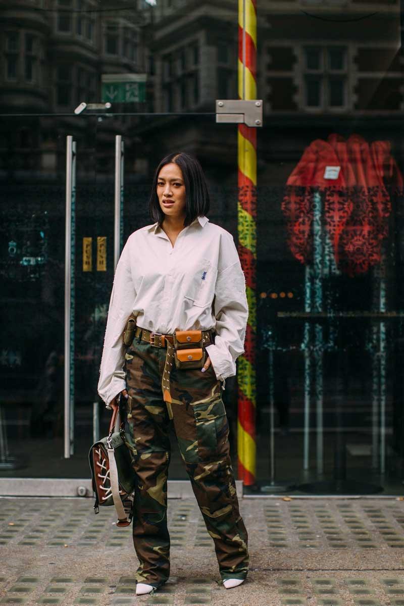 calca cargo feminina looks como usar