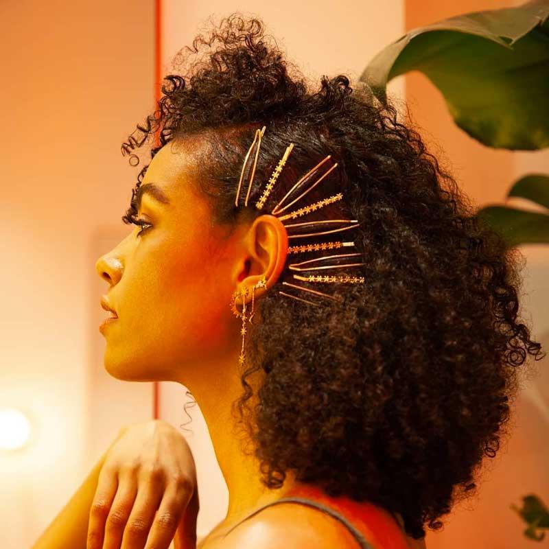 grampos de cabelo decorados