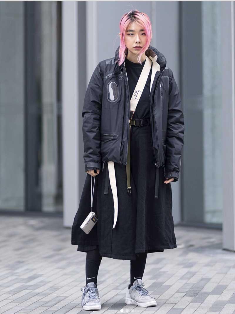 jaquetas techwear femininas