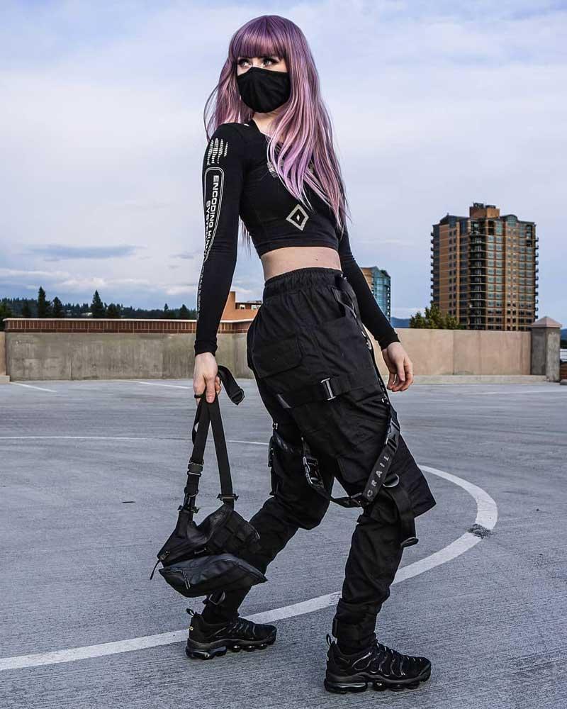 roupas techwear feminina