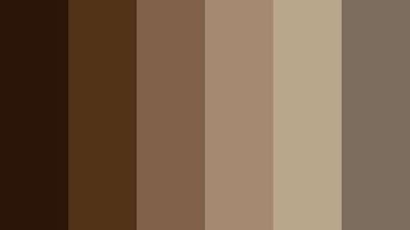 paleta de cores dark academia
