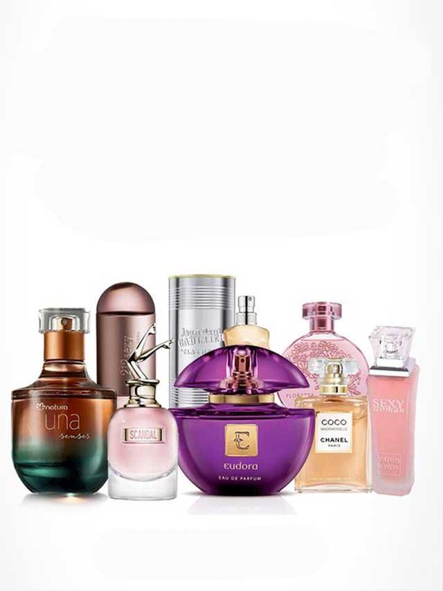 Perfumes Femininos Nacionais