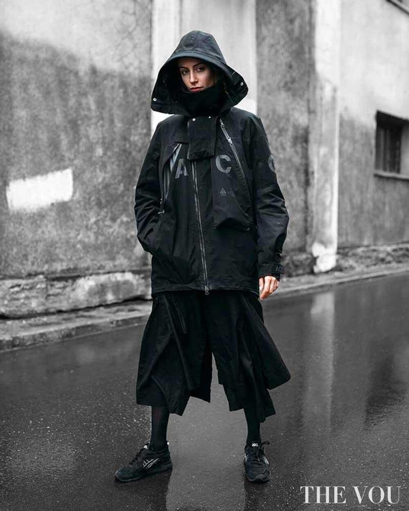 roupas techwear femininas