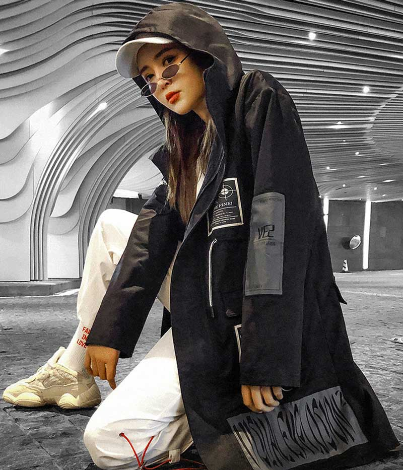 roupas femininas techwear