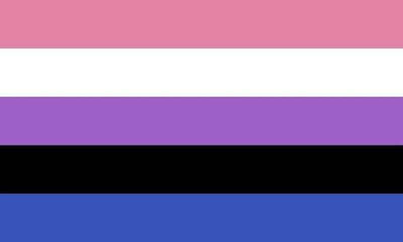 bandeira Gênero fluído