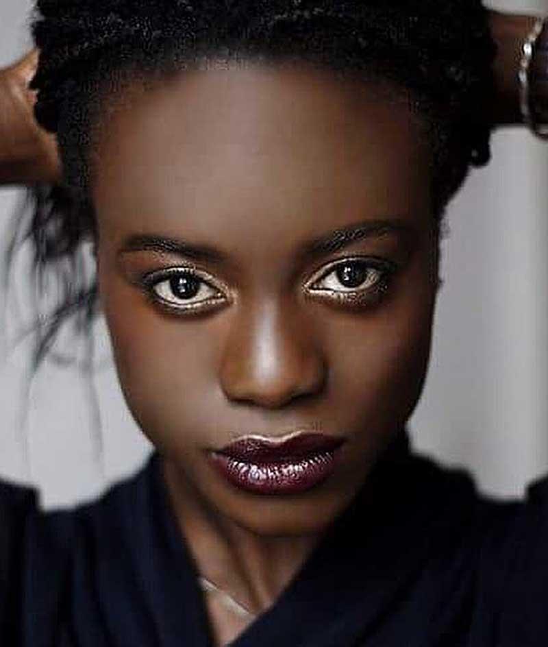 maquiagem colorida pele negra maquiagem cintilante