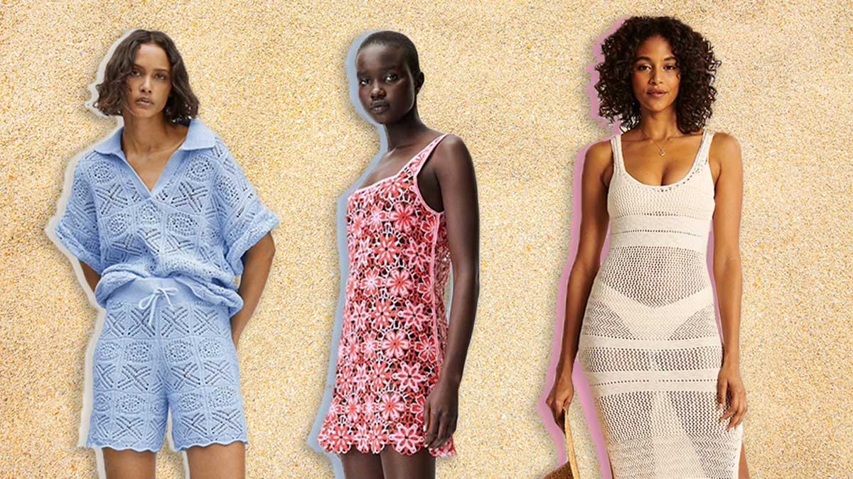 roupas de crochê femininas
