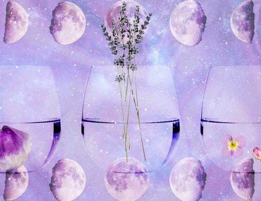 água da lua