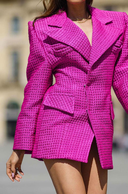 tendencia cor rosa moda