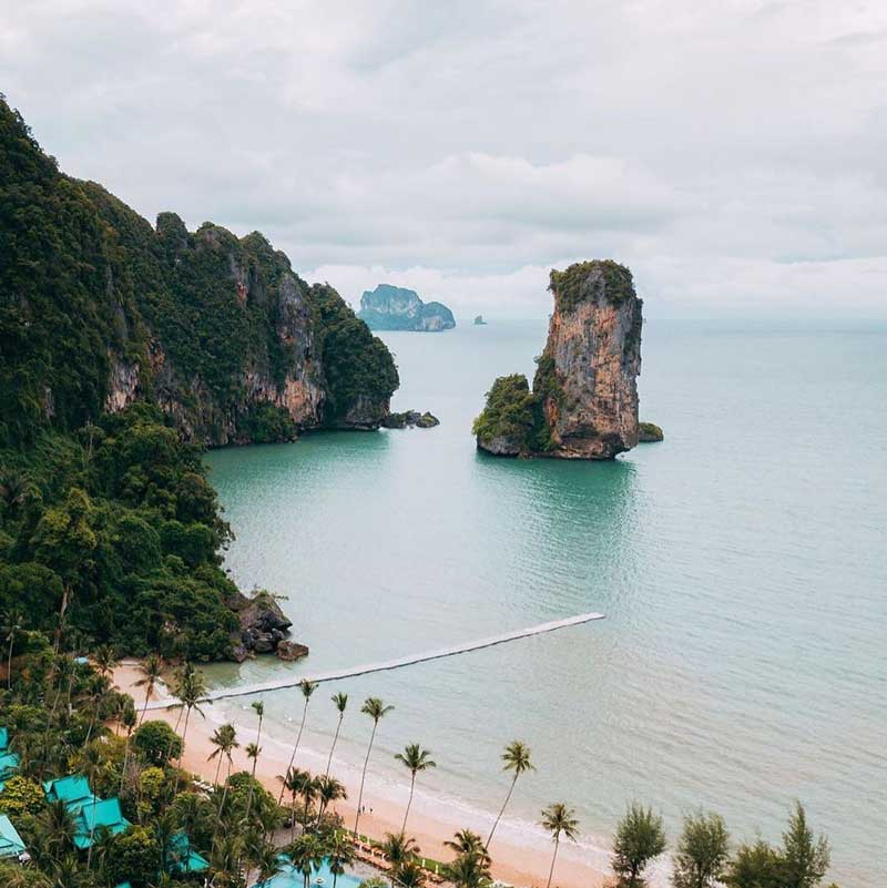 Railay Beach, Tailândia