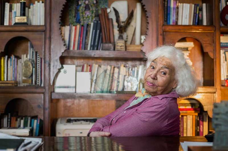 escritora egípcia Nawal el Saadawi