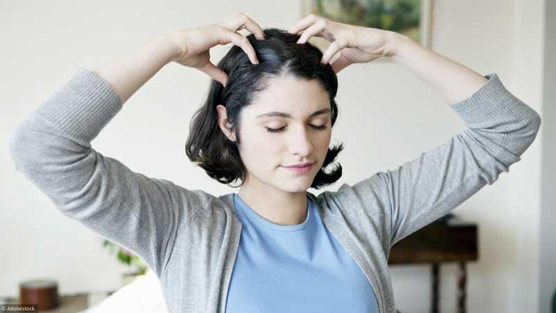 massagem capilar como fazer
