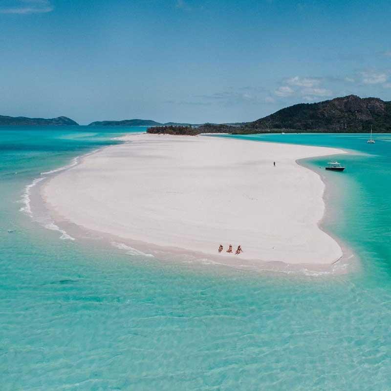 Whitehaven Beach, Austrália